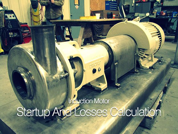 separation of losses in induction motor Lab-3: squirrel-cage induction motor rotational losses as the total input electrical power less the power dissipated on the stator resistance that is 2.