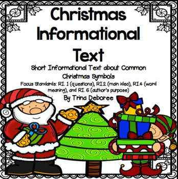 Christmas Informational Text: The Truth About Symbols
