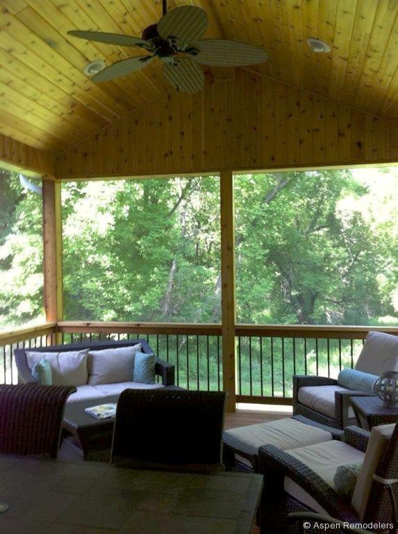Interior Screen Porch Minnetonka Mn Outdoor Decor