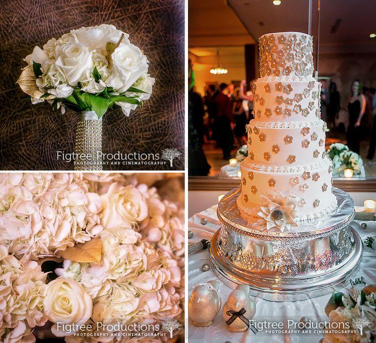Orange Wedding Cake Toppers