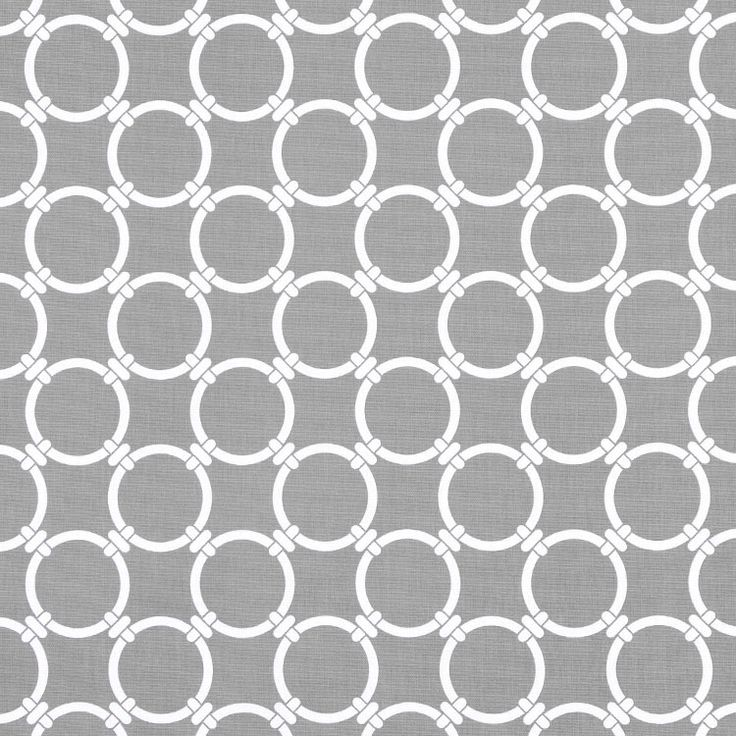 Premier Prints Linked Cool Grey Fabric Gray Room And