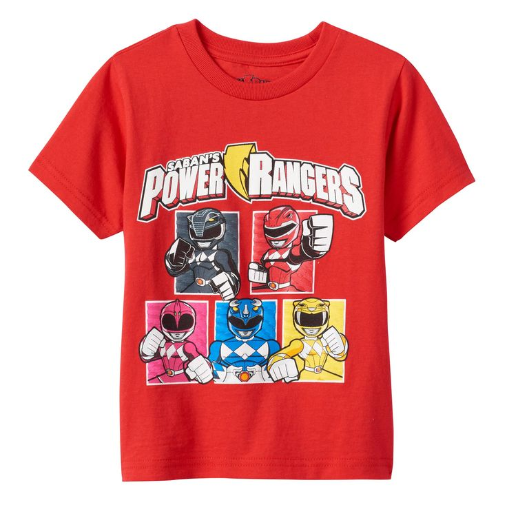 Toddler Boy Saban's Power Rangers Graphic Tee, Size: 2T, Brt Red