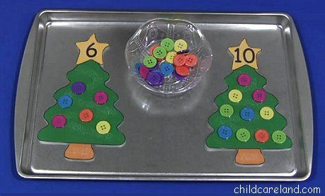 Teaching is a Gift    Childcareland.com - Early Learning Activities For Pre-K and Kindergarten   Visit website. Good ideas with other things ex: playdough