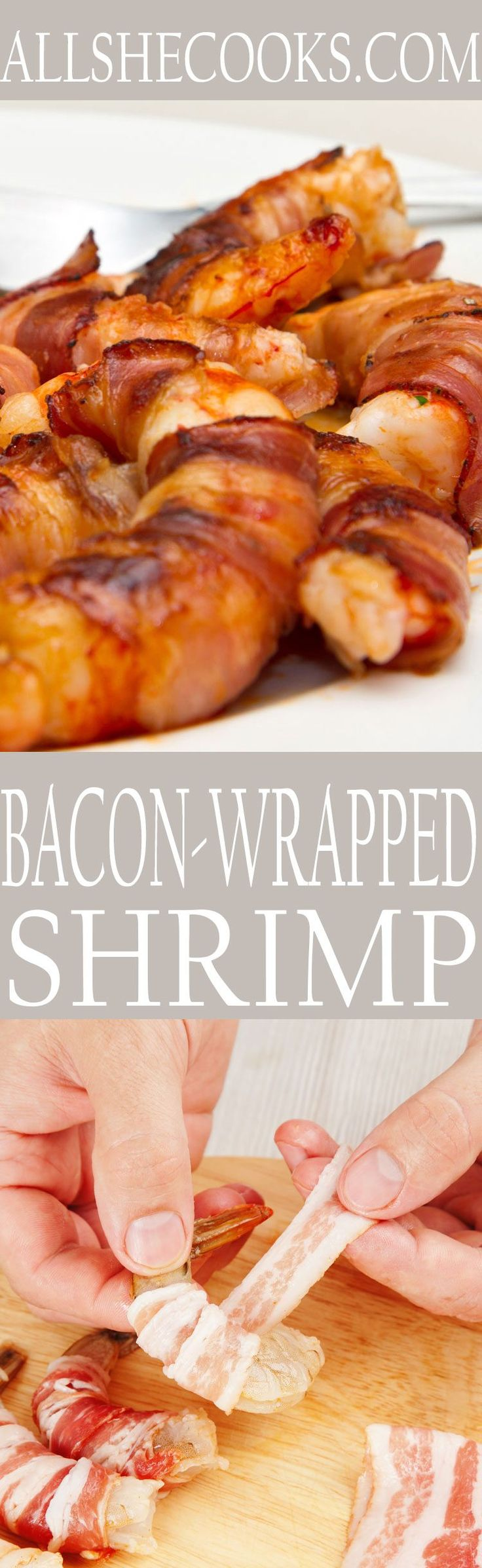 All Comfort Food: Broiled Shrimp and Bacon Wrappers