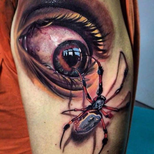 17 best images about 3 d tattoos on pinterest back - Wicked 3d tattoos ...