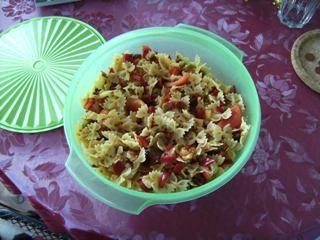 Rezept Italienischer Nudelsalat von Antonia1978 - Rezept der Kategorie Vorspeisen/Salate