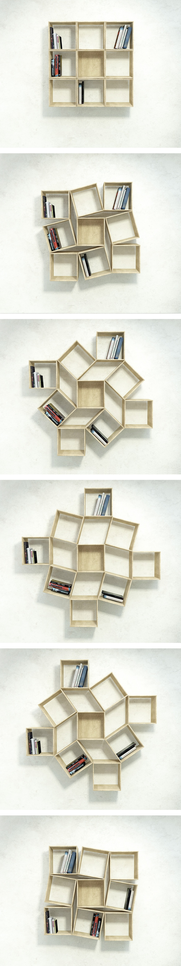 Woodworking Plans Rotating Bookshelf - WoodWorking Projects & Plans