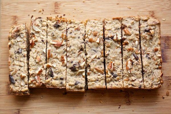 Oatmeal chocolate chip cookie breakfast bars.