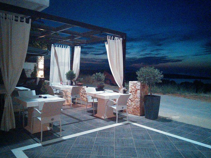 sunset view, theodosi restaurant