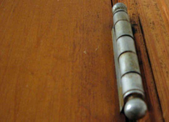 Fix Squeaky Door Hinges with Vaseline