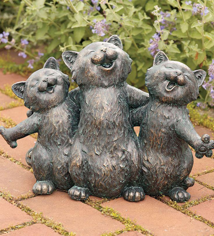 Best 25+ Cat Statue Ideas On Pinterest Stone Garden Statues   Patio Statues