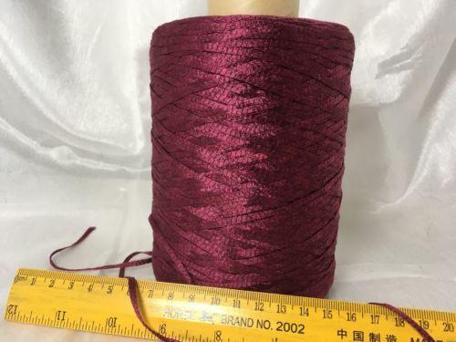 Yarn-Japanese-100-Silk-Burgundy-color-480-grams-Cone