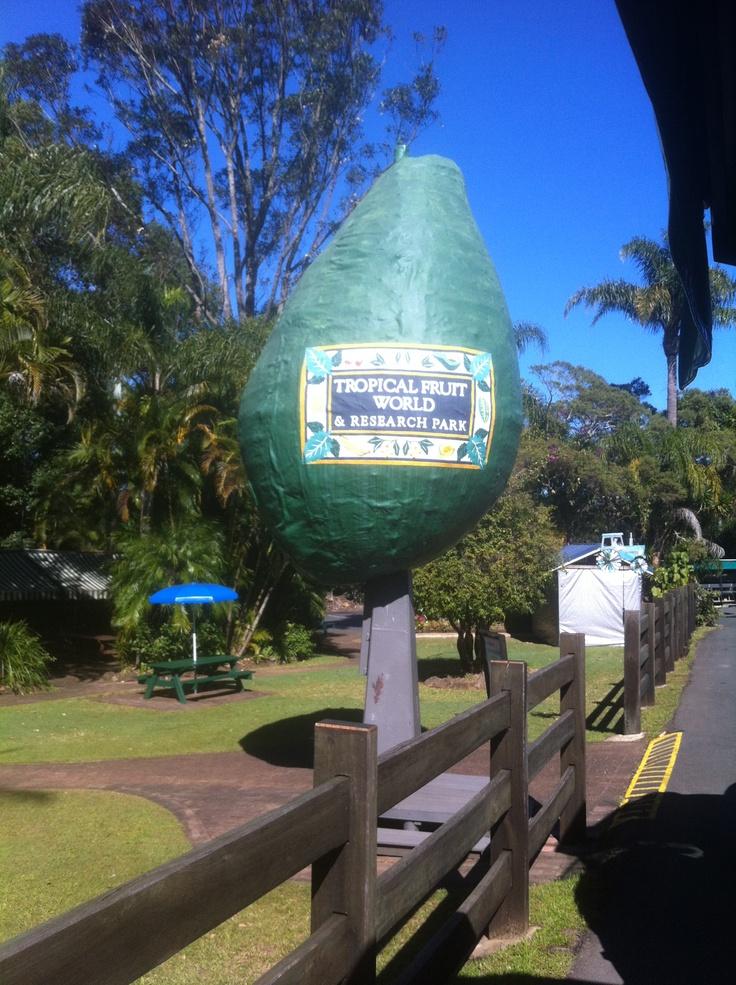 Tropical Fruit World entrance