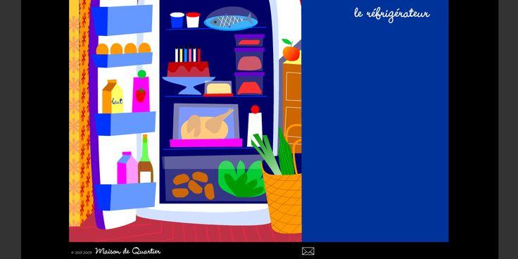 Dans le réfrigérateur