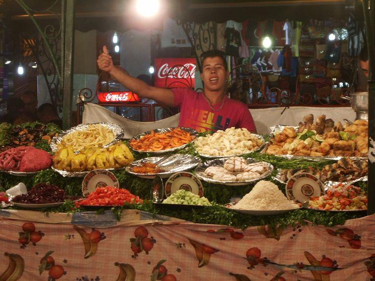 Prelibatezze al mercato di Marrakech #africa #marocco #colors #turismo #startup