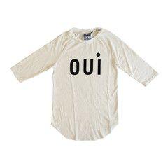 Oui Raglan T-Shirt - Creme