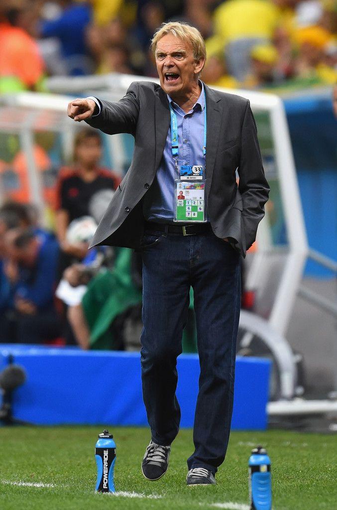 Cameroon v Brazil: Volker Finke, the Cameroon manager