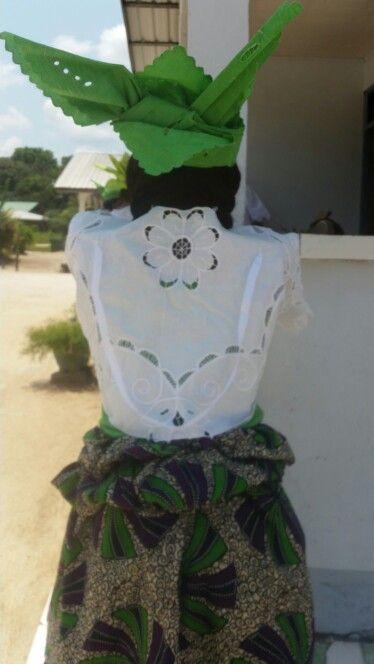 Koto. Traditional dress