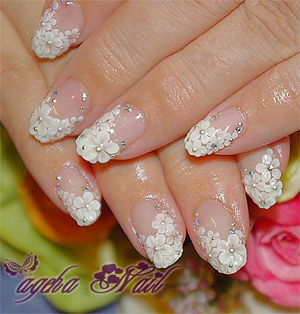 unique wedding nails art ideas