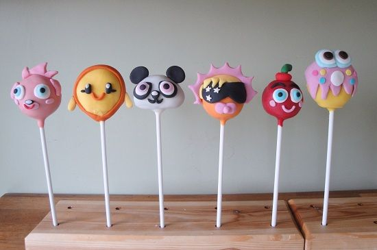 Moshi Monster Cake Pops by The Grove Coach Kitchen