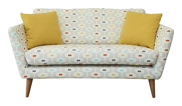 Fizz 1950 Chair, Fabric - Light Grey: Amazon.co.uk: Kitchen & Home