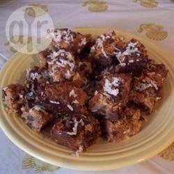 Chocolate Coconut Slice @ allrecipes.com.au