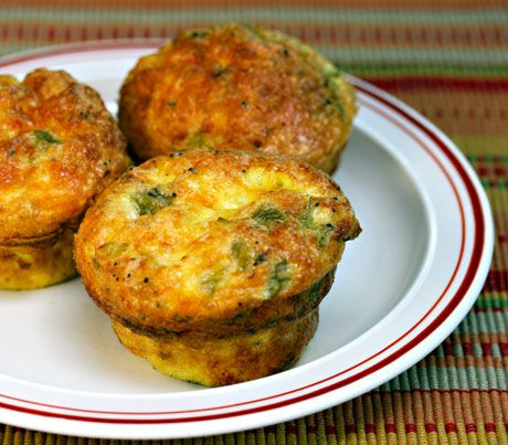 Green Chile, Cheese and Egg Muffins | Recipes | Pinterest
