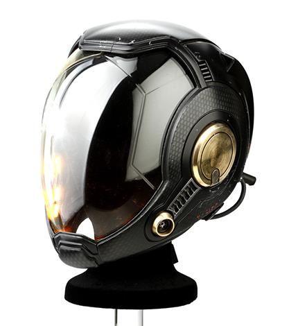 PACIFIC RIM - Mako Mori's (Rinko Kikuchi) Drivesuit Helmet - Current price: $11250