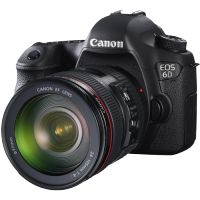 Canon EOS 6D DSLR with EF 24-70mm f/4 L IS USM Lens