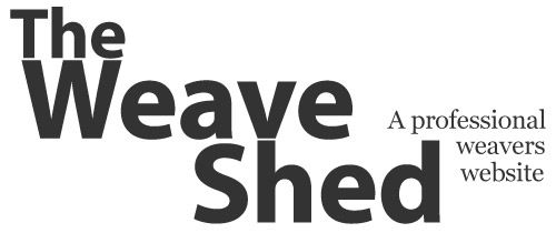 The Weave Shed - A professional weavers website