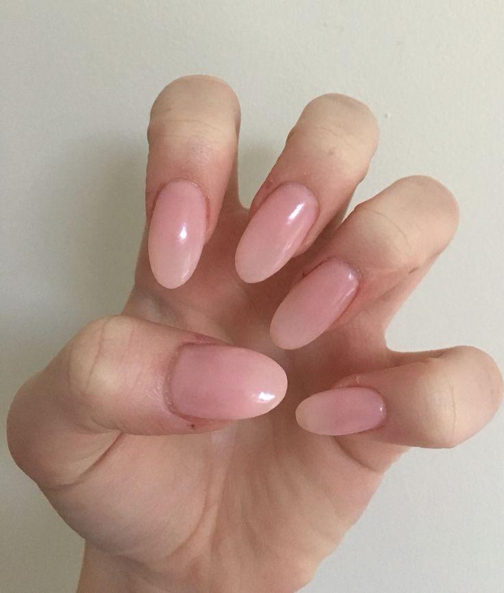 New gel powder nails