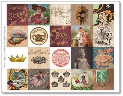 free printable vintage images: Vintage Images, Vintage Printables, Game Of, Card Making Printables, Free Printables, Printable Vintage, Custom Game