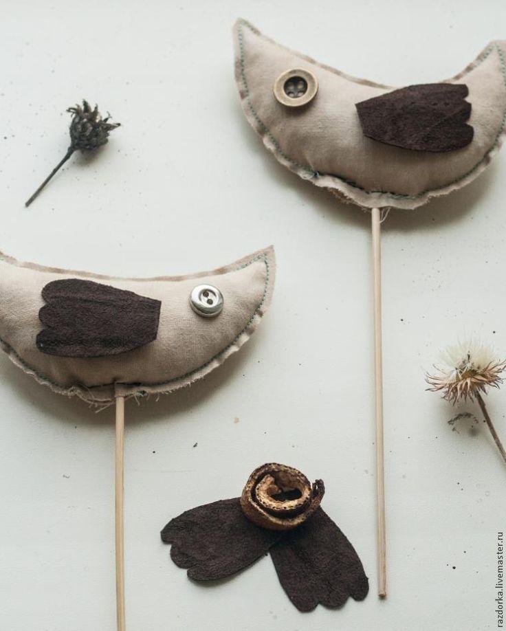 Кофейные птички своими руками - Ярмарка Мастеров - ручная работа, handmade