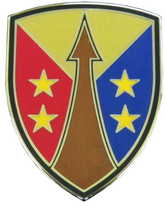 U.S. ARMY RESERVE SUSTAINMENT COMMAND, COMBAT SERVICE IDENTIFICATION BADGE