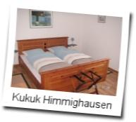 Fremdenzimmer Fam.B. Kukuk  Antoniusstr. 21 33039 Nieheim-Himmighausen 05238-997227 bkukuk@t-online.de 2 Doppelzimmer mit Duschbad, Gemeinschaftsraum, kein Frühstück auch in Verbindung mit dem Ferienappartment zu mieten.