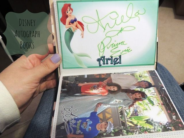 Disney Autograph Books TOTALLY printing these or doing this in the future!