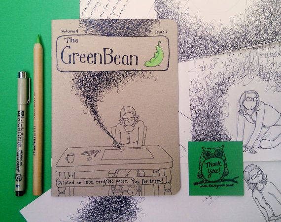 Green Bean Vol. 4 Issue 1 by Katie Green - a fascinating insight into creating a graphic novel about traumatic events.