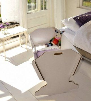 Green Lullaby Eco-Cradle - berceau pour enfant en carton: Amazon.fr: Bébés & Puériculture