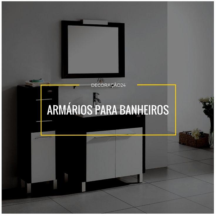 17 Best ideas about Armário Para Banheiro on Pinterest  Armário para lavande # Armario Oara Banheiro