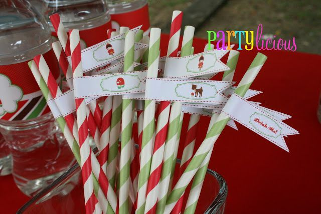 Partylicious: Birthday: {Little Red Riding Hood}