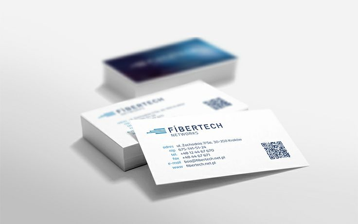 Fibertech Networks #businesscard #logo #pleo