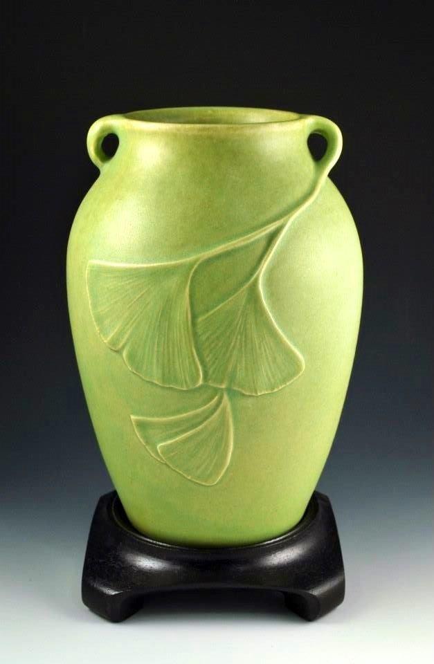#CAPCA | JW Art Pottery | Jacquie Walton | Ginkgos