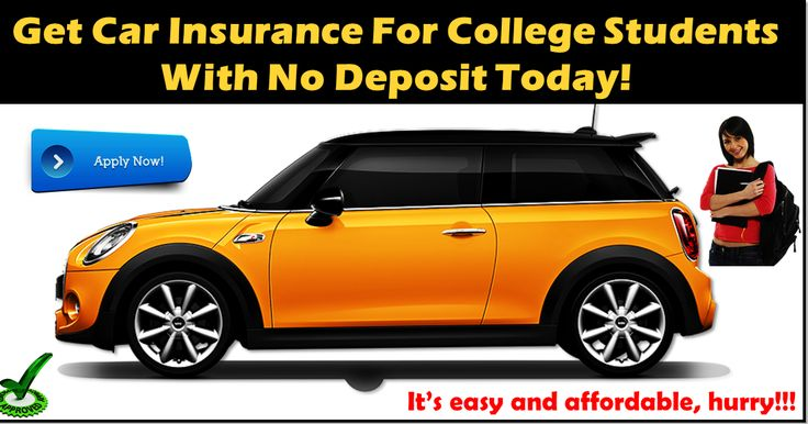 Car insurance deals for students