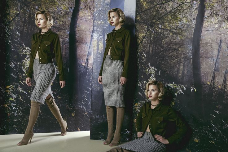 Chic Wool & Khaki Fabrics for FW16 by Concepto