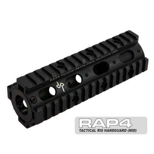Spyder MR1 Tactical RIS Handguard - paintball barrel by Rap4. $68.71. The new Tactical RIS Handguard is made out of aircraft-grade aluminum to be tough while staying light—it is made to last. The new Tactical RIS Handguard is designed to work with all types of barrels. It is also compatible with Airsoft riles RAP4 .43 caliber markers and even real firearms. This handguard is all metal and meant to take the beating of heavy recoil and rough handling. The key design of t...