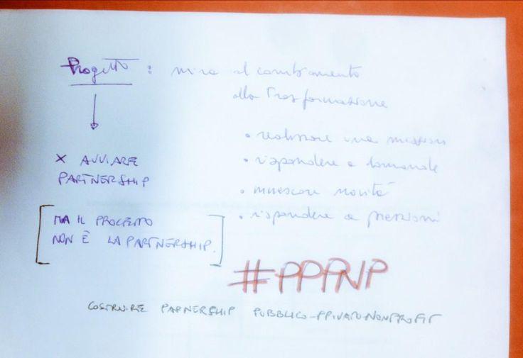 Pares @pareslink 9 h9 ore fa  #PPPNP con @marco_cau lavoriamo a mettere a punto uno strumento concreto: la scheda di progetto. Sì, già vista, ma...