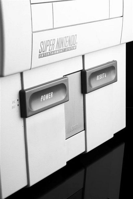 Super Nintendo Console by robsotophotography, via Flickr