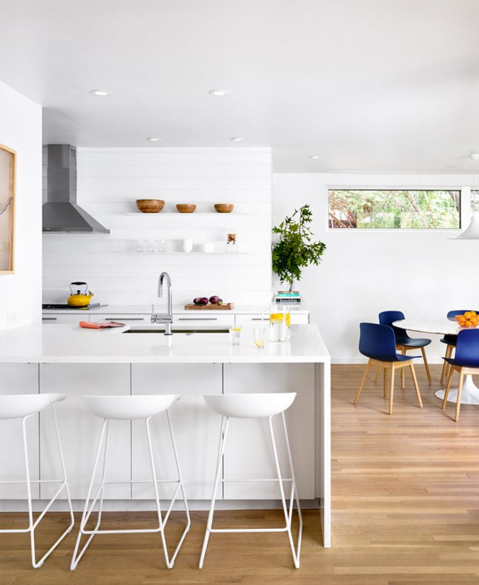 A clean, yet inviting kitchen