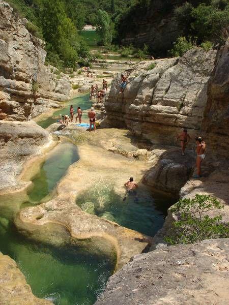 Gorges du Verdouble, Aude, France.