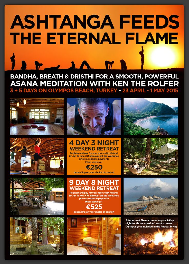 Ashtanga Feeds the Eternal Flame